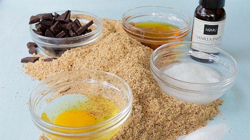 gluten-free choc chip cookie ingredients