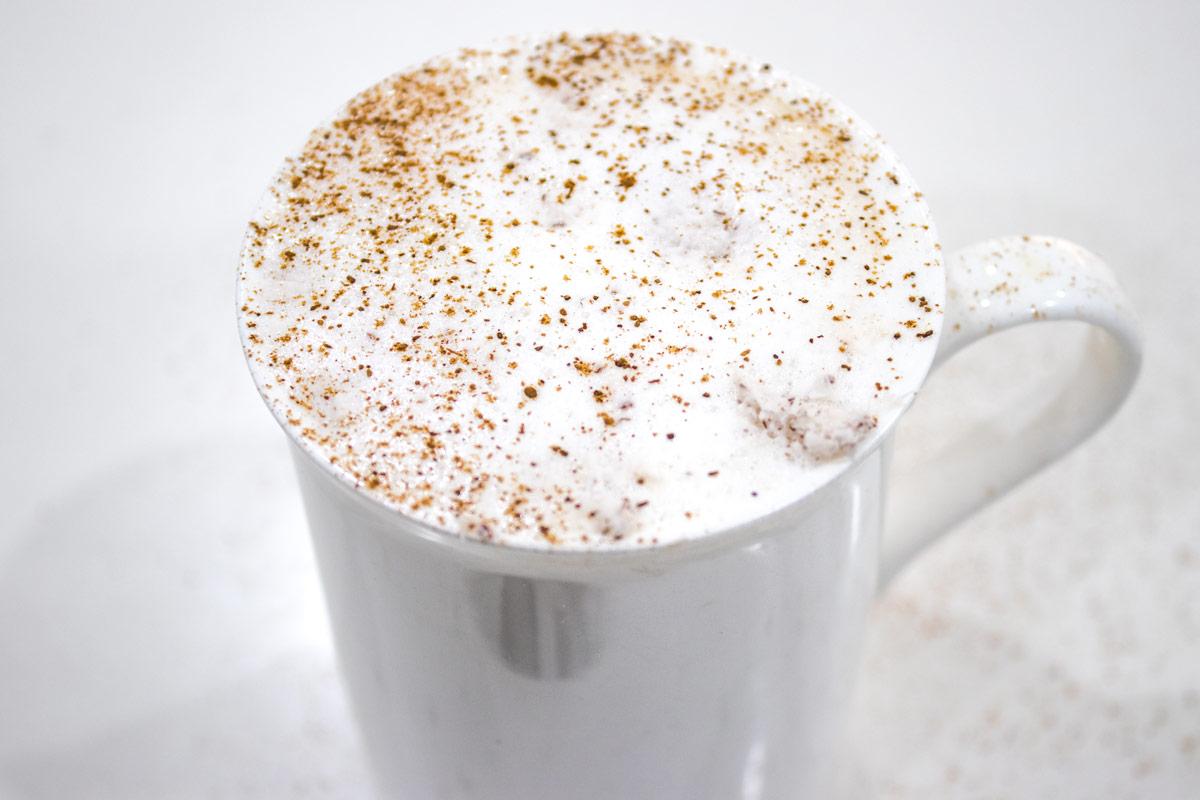 coconut milk cappucino