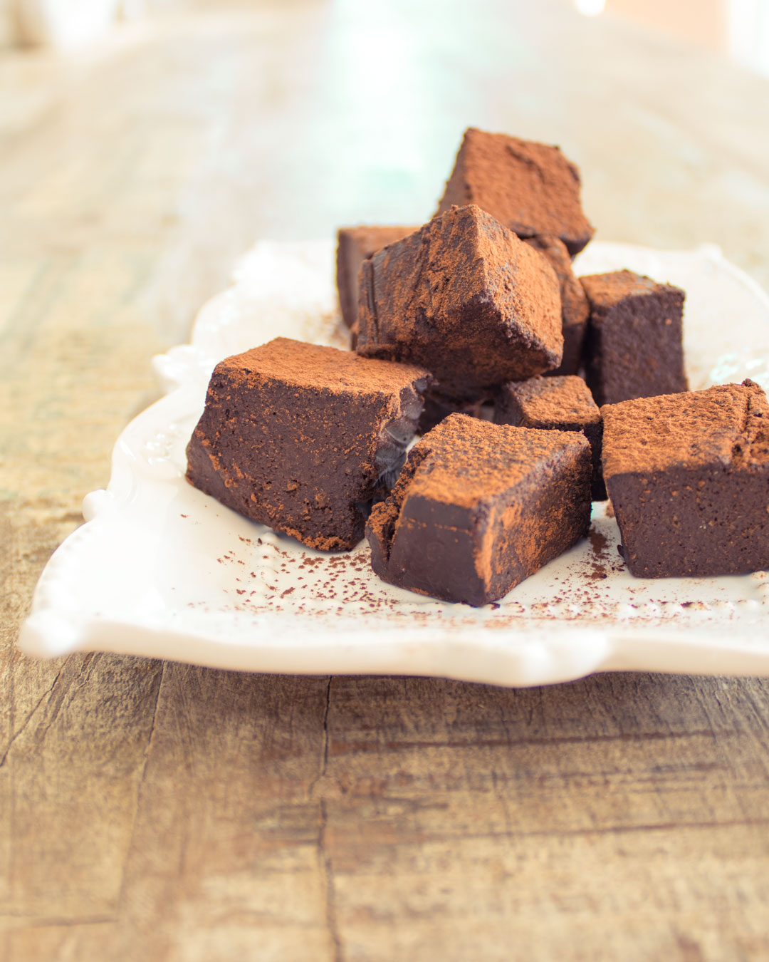 Healthy Homemade Chocolate Blocks