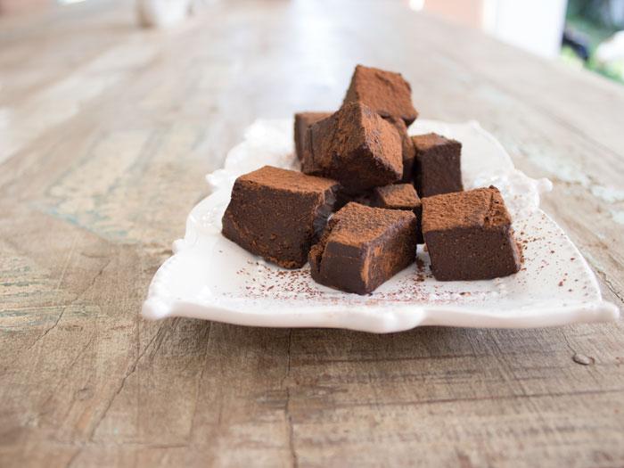 Healthy Homemade Chocolate Blocks